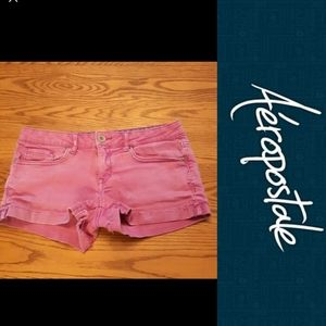 Size 5 cut off rip shorts By Aeropostale
